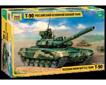 Zvezda 1:35 Russian T-90 Main Battle Tank        3573