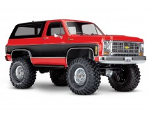 Traxxas TRX-4 Chevy K5 Blazer TQi ORANJE (excl. accu en lader)