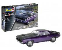 Revell 1:25 Plymouth AAR CUDA 1970