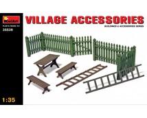 Mini Art 1:35 Village Accessoires