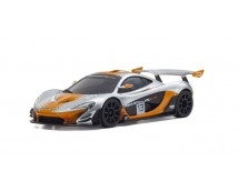 MINI-Z RWD MCLAREN P1 GTR SILVER/ORANGE (W-MM/KT531P)