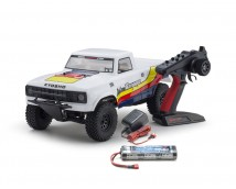 Kyosho OUTLAW RAMPAGE 1:10 2WD TRUCK WHITE READYSET