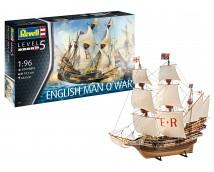 Revell 1:96 English Man O' War