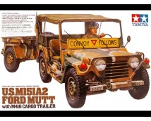 Tamiya 1:35 US M151A2 Ford Mutt with M416 Cargo Trailer
