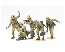 Tamiya 1:35 WWII German Africa Corps Infantry Set