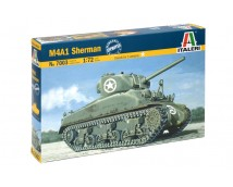 Italeri 1:72 M4A1 Sherman