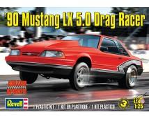Revell Monogram 1:25 '90 Mustang LX 5.0 Drag Racer