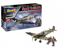 Revell 1:32 Spitfire  Mk.II Aces High Iron Maiden