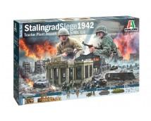 Italeri 1:72 Stalingrad Siege 1942 Tractor Plant Assault compleet diorama