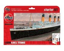 Airfix 1:1000 RMS Titanic Gift Set incl. lijm, verf en kwasten    A55314