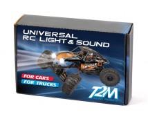 T2M - RC LED en SOUND Set voor Auto's en Vrachtwagens
