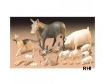 Tamiya 1:35 Livestock Set