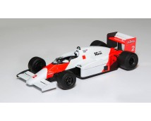 Aoshima BEEMAX 1:20 McLaren MP4/2B 1985 Monaco GP Version
