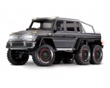 Traxxas TRX-6 Mercedes-Benz G 63 AMG Body 6X6 Electric Trail Truck MAT GRIJS OF WIT