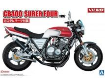 Aoshima 1:12 Honda CB400 Super Four 1992  wih custom parts