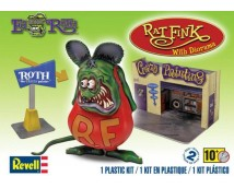 Revell Ed Roth's Rat Fink with Diorama