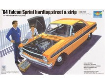 Trumpeter 1:24 Ford Falcon Sprint Hardtop 1964 (2in1 Street or Dragstrip Edition)