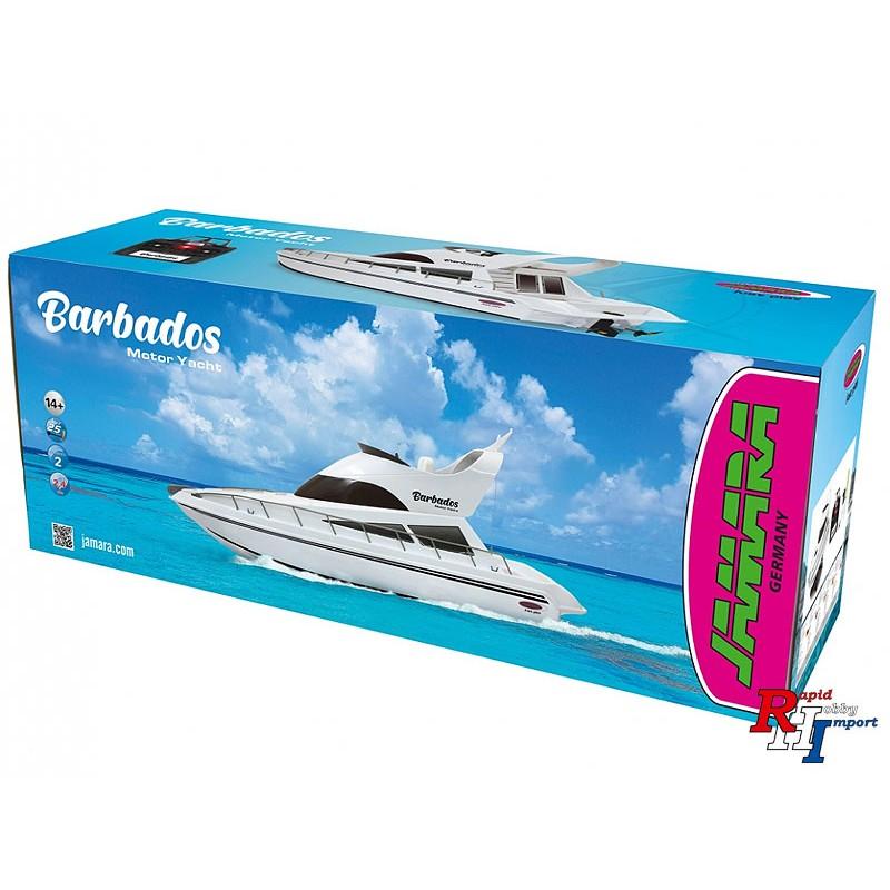 Jamara RC Motor Yacht Barbados 2,4Ghz incl. accu en lader