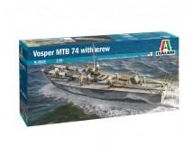 Italeri 1:35 VOSPER MTB 74 With Crew     ITA5624
