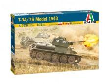 Italeri 1:72 T-34/76 Model 1943     ITA7078