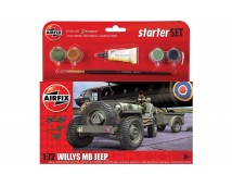 Airfix 1:72 Willys MB Jeep Starter Set     A55117