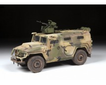 Zvezda 1:35 GAZ Tiger-M Russian Armored Vehicle with Arbalet      3683