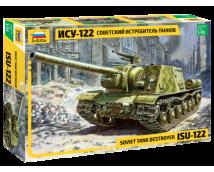 Zvezda 1:35 ISU-122 Soviet Tank Destroyer    3534