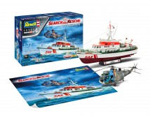 Revell 1:72 SAR BERLIN + Westland Seaking Mk41  MODEL SET   05683