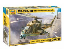 Zvezda 1:48 MI-24V/VP Soviet Attack Helicopter    ZVE4823