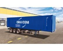 Italeri 1:24  40' Container Trailer    ITA-3951
