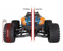 Traxxas WIDEMAXX Suspension Kit (Zwart)   TRX8995