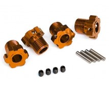 Traxxas Wheel Hubs 4pcs. Orange  TRX8654A