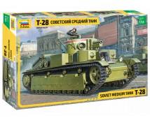 Zvezda 1:35 Soviet Medium Tank  T-28       3694