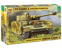 Zvezda 1:35 German Medium Tank Panzer IV Ausf. G       3674