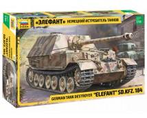 Zvezda 1:35 German Tank Destroyer ELEFANT Sd. Kfz. 184    (Zvezda 3659)