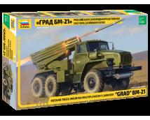 Zvezda 1:35 BM-21 GRAD Rocket Launcher     3655