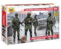 Zvezda 1:35 Modern Russian infantry    3665
