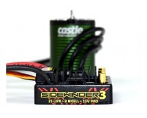 Castle Creations SV3 Sidewinder Brushless Combo Waterproof 5700KV     CC-010-0115-06