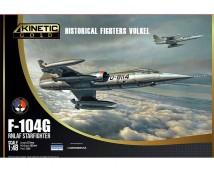Kinetic 1:48 F-104G Starfighter Historical Fighter VOLKEL  (NL)     KIN-48090
