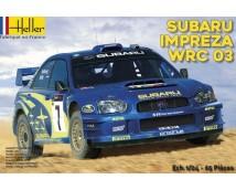 Heller 1:24 Subaru Impreza WRC 2003    (80750)