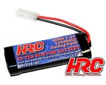 HRC 7,2V NiMh 1600mAh 1:12 / 1:16 Stickpack met Tamiya stekker