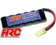HRC 7,2v 1600mAh 1:12 / 1:16 Accu met Mini-Tamiya stekker