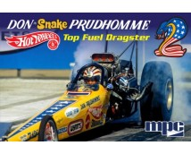 MPC 1:25 Don SNAKE Prudhomme Yellow Feather 1972 Top Fuel Dragster