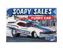 MPC 1:25 Soapy Sales Funnycar Dodge Challenger   MPC831/12