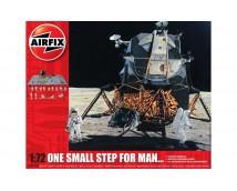 Airfix 1:72 One small step for man..... (Lunar Module, moon Diorama,16 astronauts + Lijm en verf)  A50106