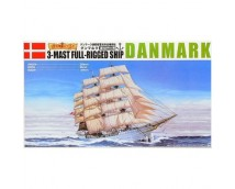 Aoshima 1:350 Danmark 3 Mast Full Rigged Ship    04260