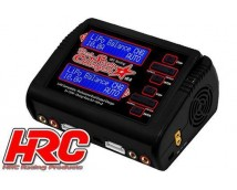 HRC Dual Star Charger 2x 10Ah NiMh/LiPo       HRC9361C