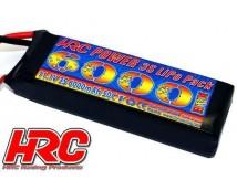 HRC 11,1V 6000mAh 3s 50C LiPo met XT-90 stekker