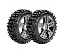 Roapex 1:8 Buggy Rhythm Off-Road Tires 2st. Chrome 17mm Hex