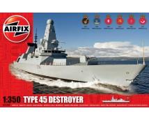 Airfix 1:350 Type 45 Destroyer     A12203